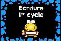Écriture 1er cycle