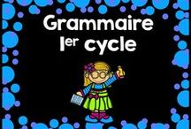 Grammaire 1er cycle