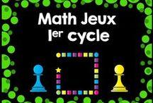 Math jeux 1er cycle