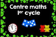 Centres maths 1er cycle