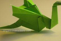 Origami che passione / Giocando con la carta...