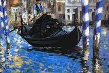 Venezia nell'arte / Venezia, la sua magia, i suoi colori immortalati nei dipinti di celebri pittori di tutti i tempi