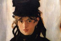 Edouard Manet (1832-1883) / Il trait d'union fra il Realismo e l'Impressionismo: un pittore assolutamente unico, indipendente da qualsivoglia movimento, ma che giocò un ruolo chiave nell'aprire la strada alla pittura contemporanea.  Ha osservato il critico Georges Bataille nel 1955 «il nome di Manet ha, nella pittura, un senso a parte. Manet [...], in rotta con quelli che l'hanno preceduto, aprì il periodo in cui viviamo, accordandosi con il mondo di oggi, che è il nostro; in dissonanza col mondo in cui visse, che egli scandalizzò».