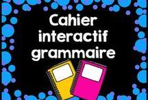 Cahier Interactif Grammaire