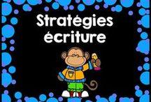 Stratégies écriture