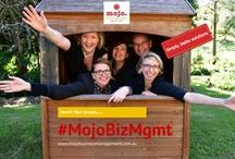 The Mojo Business Management Team :) / Simply, better solutions. Together the #MojoBizMgmt team provide more than 20 years experience across Marketing, Communication, Social Media, Graphic Design, Workshop Facilitation and Finance for business.  We believe in working with you to get the best outcomes using a team approach.  The team has a passion for sharing simple solutions (often in complex environments) to help you get the results you need. Contact us to discover how we can help you achieve the outcomes you want for your business