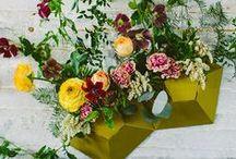 Floral Decor + Centerpieces