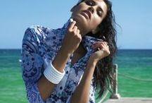 Пляжные рубашки / Стильное дополнение пляжного образа  туника в виде рубашки или блузы.Они выполнены из натуральных материалов и не раздражают загоревшую кожу.