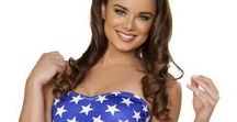 Fourth of July / Show off your patriotic side this Independence Day with the Stars and Stripes!