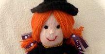 mes poupées / Poupées au tricot