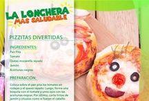 Meriendas & Loncheras / Crea opciones nutritivas para los más chiquitos de la casa.