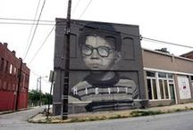 Street Art / Arte callejero, Graffiti, Street Art, Art