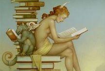 Arte Visual / Ilustraciones y pinturas de arte moderno y no tan moderno.