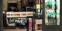 Gallery & Stores / Diseño y decoración de interiores y exteriores de cafeterías, librerías y demás.