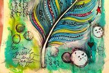 Inspirations ~ Dessin & peinture / Images et photographies pour m'inspirer en dessin et peinture ; explications de techniques, dessins par étapes...