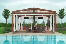 Pergolati e vele ombreggianti / Scegli pergolati e vele ombreggianti moderne, resistenti e dal design accattivante per vivere il tuo giardino!