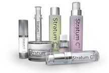 Stratum C / Bringing science to skincare for when you need it most. High levels of active peptides to double collagen production, remove existing wrinkles and replenish lost vitamins whilst using minimum preservatives.