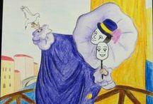 Mes peintures / Mes peintures (à la gouache, à l'aquarelle, à l'acrylique, à l'huile...) Vous pouvez retrouvez mes articles sur mon blog : homemadebysunny.canalblog.com