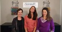 Sewing Tutorials - free online tutorials on YouTube / Do you want to learn how to sew? Visit our YouTube channel called Zierstoff Patterns and find many free sewing tutorials with many great tips helping you to celebrate great success within a very short time! The Zierstoff Team is looking forward to you! Ilka - Joanna - Julie