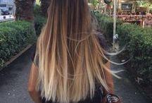 Tie & dye hair
