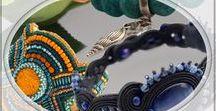 Bracelets / Handmade bracelets, soutache bracelets, beading braselets,  ręcznie robione bransoletki: sutasz, haft, beading i inne