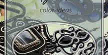 Black - color ideas / Everything in black: jewelry, animals, objects, decorations. Ideas for the use of the color black. Wszystko w kolorze czarnym: biżuteria, zwierzeta, przedmioty, dekoracje. Pomysły na zastosowanie koloru czarnego.
