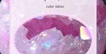 Pink - the color ideas / Jewelry, decorations and other items in pink. Ideas for combining the pink color. Biżuteria, ozdoby i inne przedmioty w kolorze żółtym. Pomysły na łączenie koloru różowego.