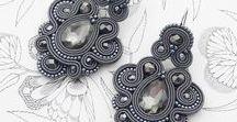 Gray - the color ideas / Jewelry, decorations and other items in gray & silver. Ideas for combining the gray color. Biżuteria, ozdoby i inne przedmioty w kolorze szarym, popielatym i srebrnym. Pomysły na łączenie koloru szarego.