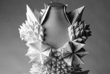 Kleider aus Papier & paper dress