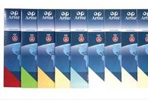 Papier Artoz PCC / PCC besitzt ein echtes Wasserzeichen und ist sehr gut bedruckbar.