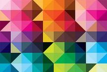 Color & Design / Colorful Design Art, Abstract Lines, Geometric Forms, Patterns, Swiss Typography and many more. / by Michael Schulz