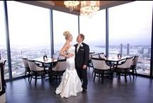 Nikki & Doug 7.1.12 / Nikki and Doug said their I do's at The University Club Atop Symphony Towers. You are able to rent out the entire venue for  special events. If interested call 619.234.5200 / by University Club San Diego