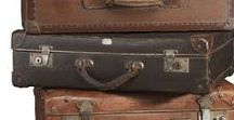 Luggage, Trunks and Boxes.. all Vintage /  c'est si beau...