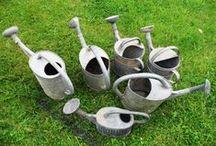 Iron and zinc baskets / De vieux objets de  notre passé, juste nobles et beaux
