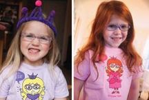 Princesses Wear Glasses / When you have a little princess who wears glasses sometimes it can be hard. Check out these recourses to help your little glasses wearing princess to feel more like a princess.