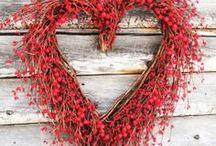 Red Wedding inspirations / Ispirazioni rosse per un matrimonio Country