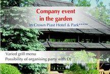 Special offers/ Oferty specjalne / www.hotelpiast.pl www.facebook.com/crownpiasthotelpark