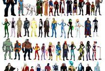 DC/Marvel / My superhero obession  / by ....::CΣCΣ::.....