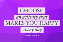 Quotes 2 be inspired / Meaningful quotes and affirmations written by Marieke if you are looking for the right inspirational words.