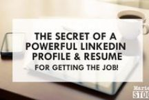 LinkedIn Profile Tips / Stand out from the crowd, to have a optimised LinkedIn Profile. Online personal branding tools.