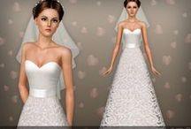 Robe de Mariée (Sims 3)