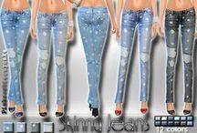 Pantalon Femme - Sims 4