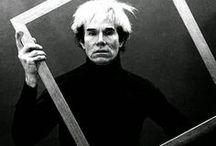 Andy Warhol en la escuela / Cuadros, ideas, producciones, recursos para trabajar Andy Warhol en un proyecto de escuela y en plástica.