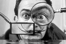 DALÍ EN LA ESCUELA / Ideas, cuadros y actividades relacionados con la vida y la obra de Salvador Dalí para trabajar la educación plástica en la escuela.