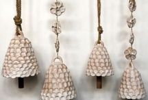 Ceramics: Chimes and mobiles