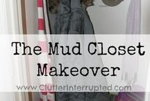 Mud Closet Makeover