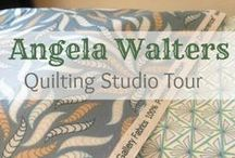 Angela Walters Quilting Studio Tour