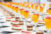 Food and Canape Inspiration by Apollo Event Consultants / A mouth watering selection of culinary delights that have been created for some of our events