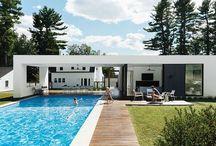 Outdoor room & pool