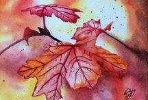 Watercolors by Pauline / Aquarelles Pauline Art Gallery